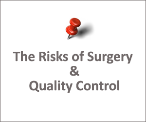 Risk of Surgery and Quality Control